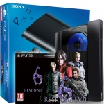 PS3 Super Slim 500GB + Resident Evil 6