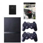 Sony PlayStation 2+2 джойстика+карта памяти 8Mb+игра Need For Speed